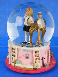 Eloise vintage collectible water globe