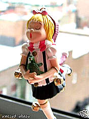 Eloise Doll Christmas ornament