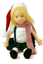 Eloise Santa Doll Plaza Hotel Collectibles