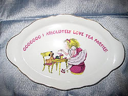 Eloise tea party collectible tray