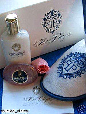 plaza gift box plaza lotions with slippers